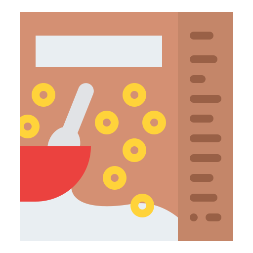 Cereal  free icon