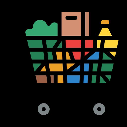 carrito de supermercado  icono gratis