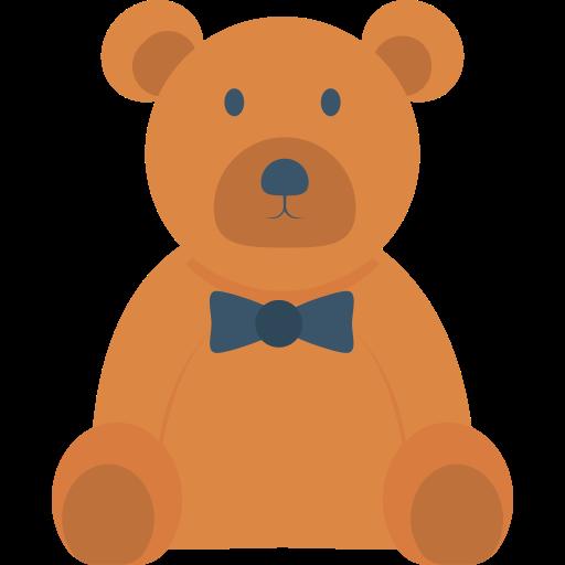 Teddy bear  free icon