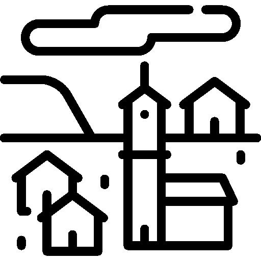 pueblo  icono gratis