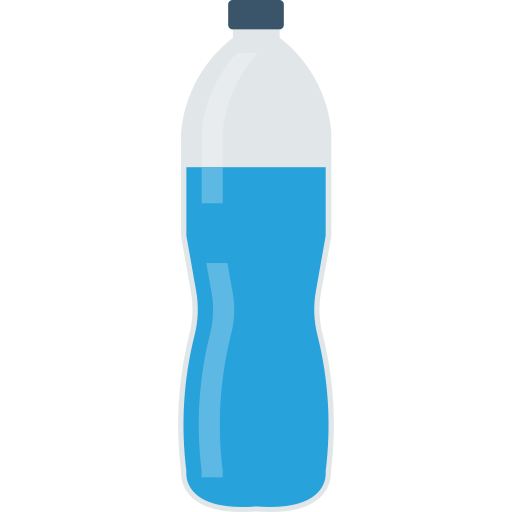 Water bottle  free icon