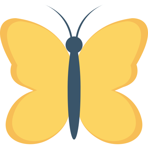 Butterfly  free icon