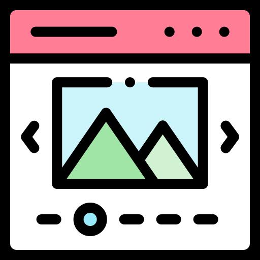 Slider  free icon