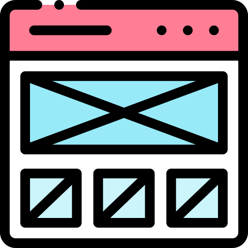 Wireframe  free icon
