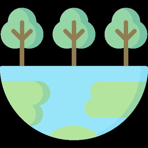 Green earth  free icon