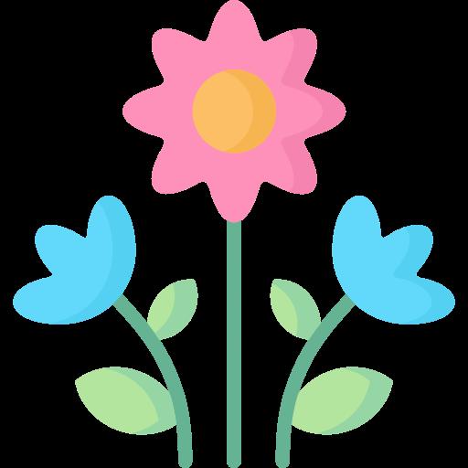 flores  icono gratis