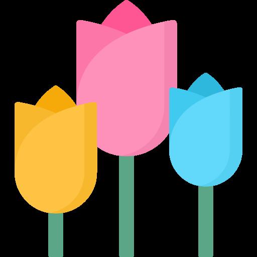 tulipanes  icono gratis