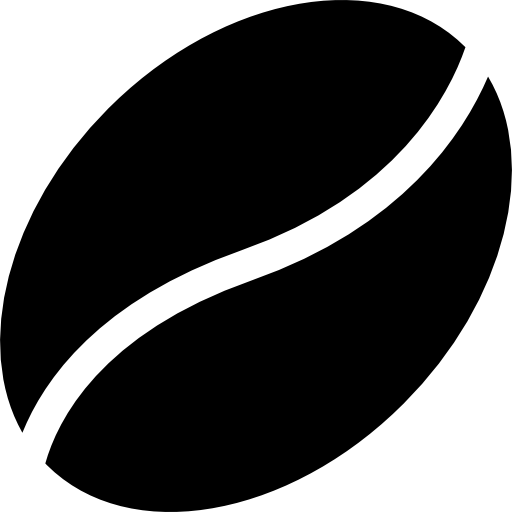Coffee bean for a coffee break  free icon
