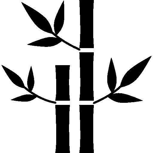 plantes de bambou de spa  Icône gratuit