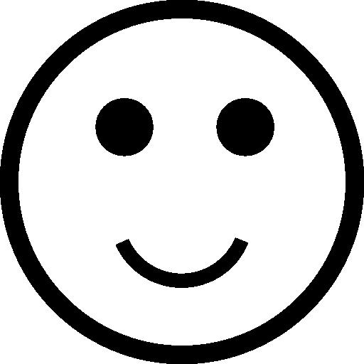 미소 이모티콘  무료 아이콘