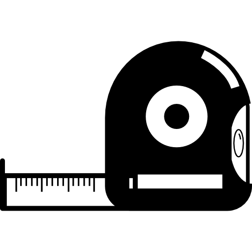 tape measure  free icon