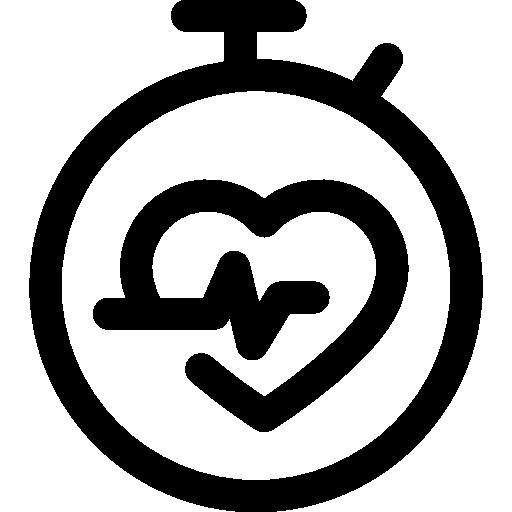 fréquence cardiaque  Icône gratuit