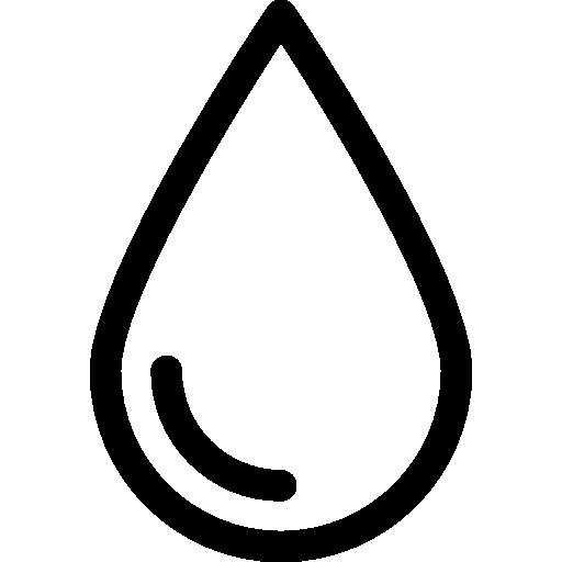 goutte de liquide  Icône gratuit
