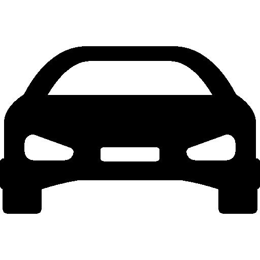 avant de voiture sportive  Icône gratuit