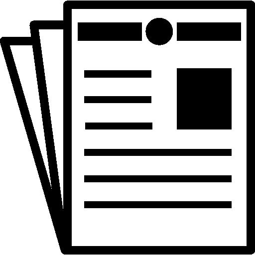 journal  Icône gratuit