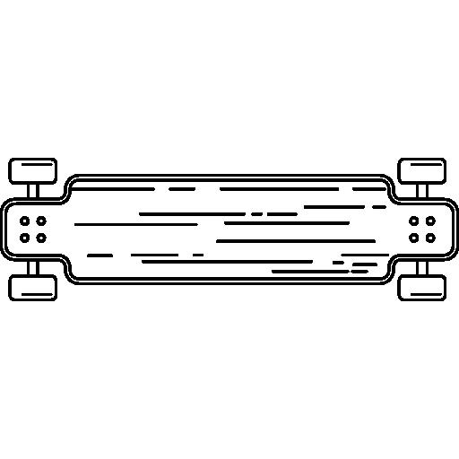 vista inferior del coche de carreras  icono gratis
