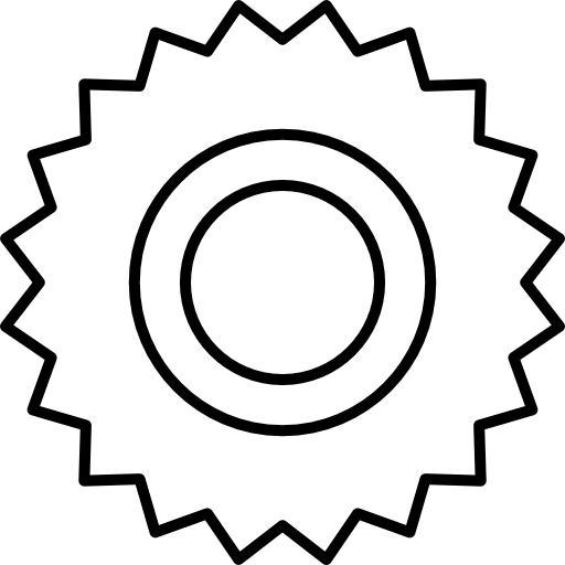Cogwheel variant of small cogs  free icon