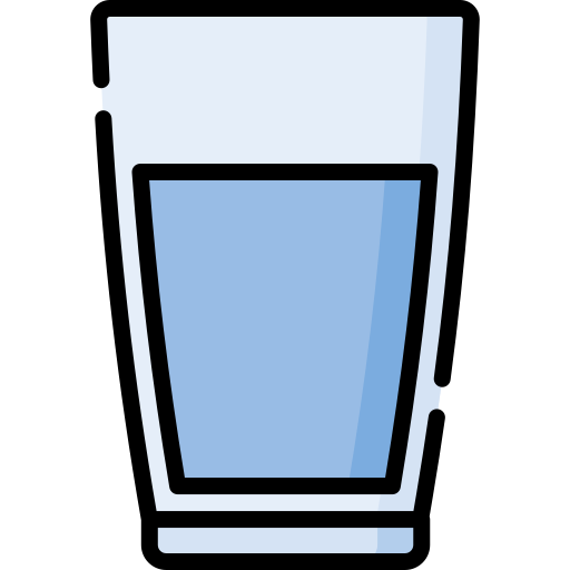 Glass of water  free icon