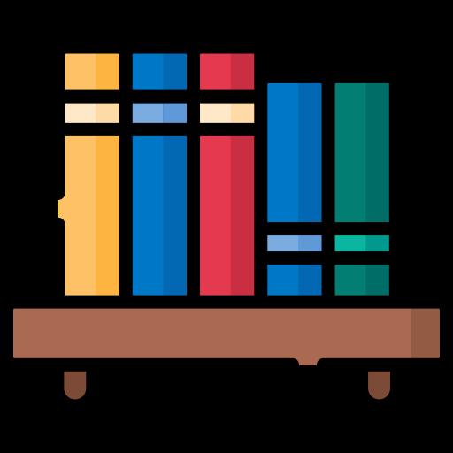 Bookshelf  free icon