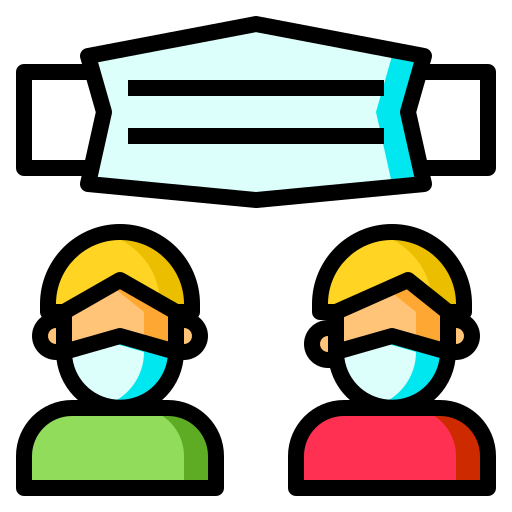 Face mask  free icon