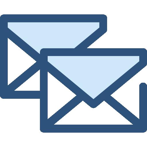correos electrónicos  icono gratis