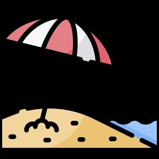 Beach  free icon