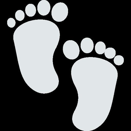 Barefoot  free icon