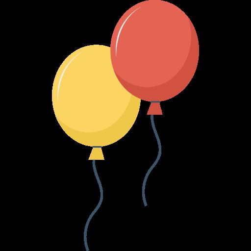 Balloon  free icon