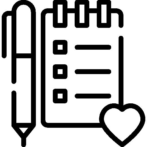 위시리스트  무료 아이콘