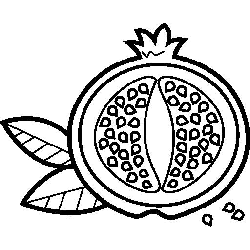 Pomegranate  free icon