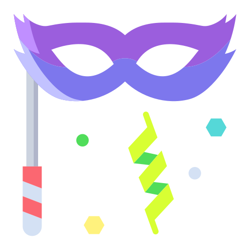 파티 마스크  무료 아이콘