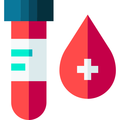 prueba de sangre  icono gratis