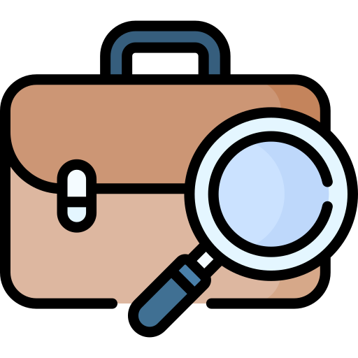 Job seeker  free icon