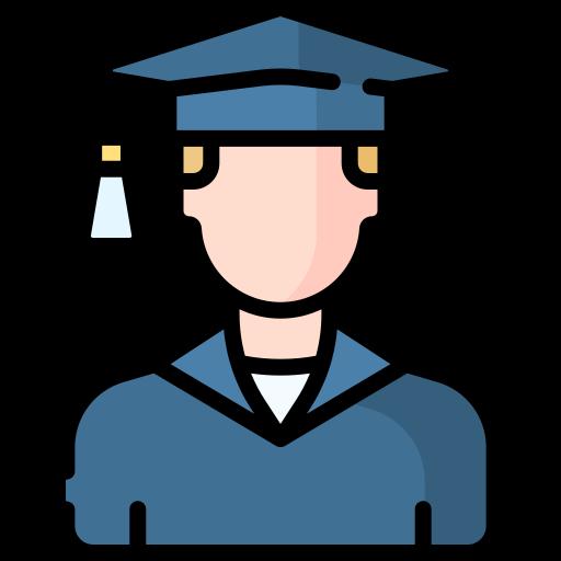 graduado  icono gratis