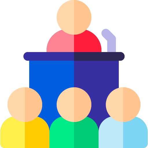 Conference  free icon
