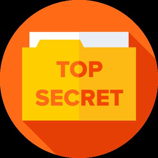 Top secret  free icon