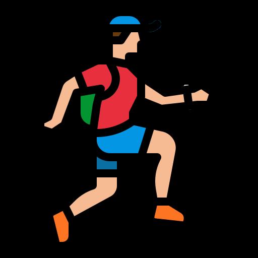 corrida em montanha  grátis ícone