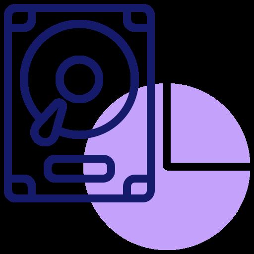 Hard drive  free icon
