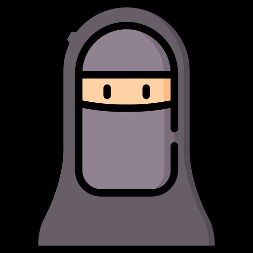 Niqab  free icon