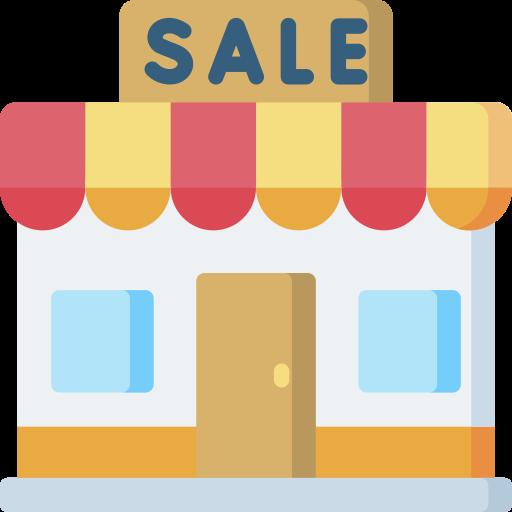 Sale  free icon