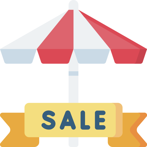 Summer sale  free icon