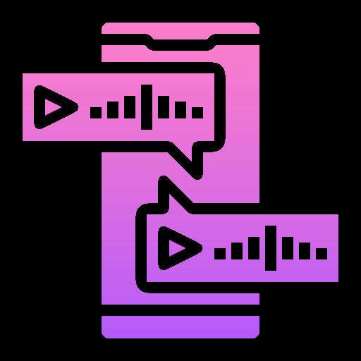 mensagem de voz  grátis ícone