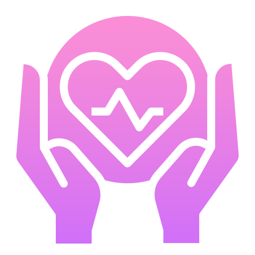 Heart rate  free icon
