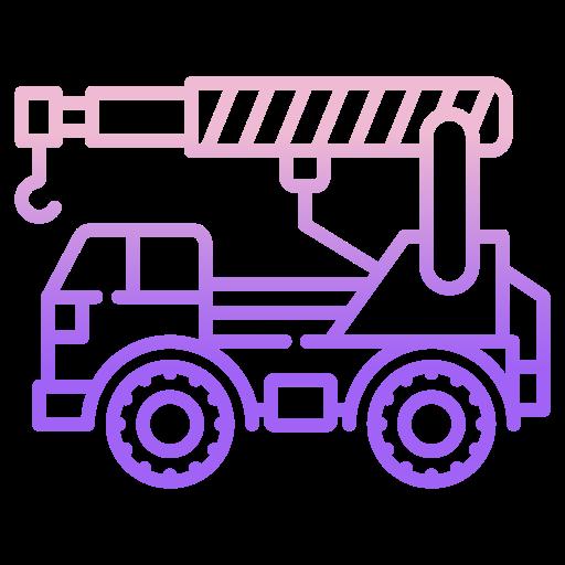 Crane truck  free icon