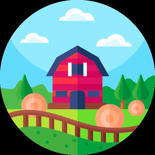 granja  icono gratis