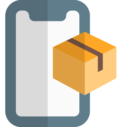 패키지 배송  무료 아이콘