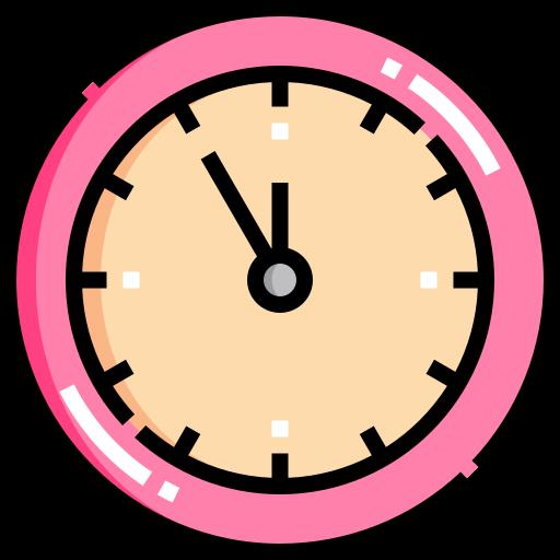 l'horloge  Icône gratuit