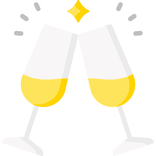 Champagne  free icon