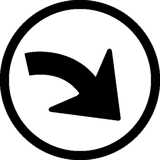 refaire la flèche de navigation dans un cercle  Icône gratuit