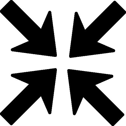 Arrow join  free icon